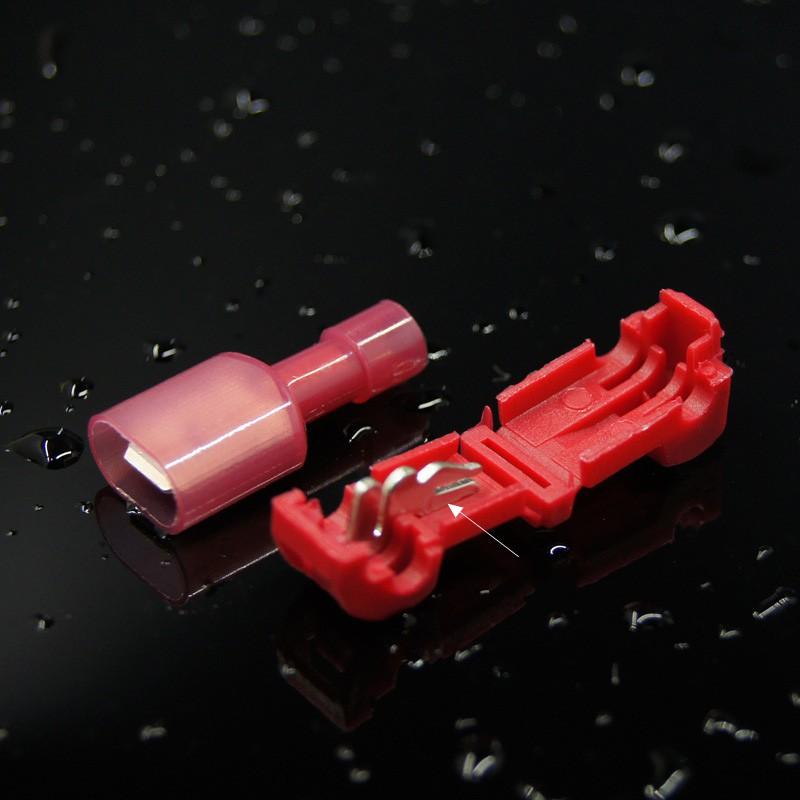 Combo 20 cút nối dây điện phân nhánh chữ T cho dây từ 0.3 - 1mm2 (T1)
