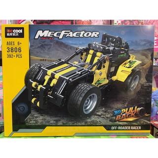 Xếp hình lắp ghép lego Mô hình ô tô 3806