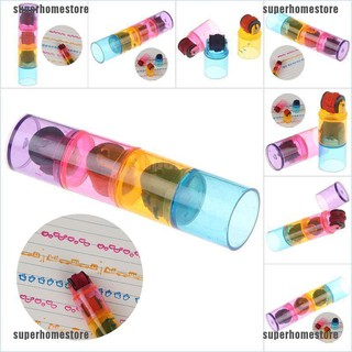 [superhomestore]3Pcs Kid colorful image learning stamps seals educational diy drawing toys jelly