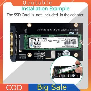 Adapter Chuyển Đổi Sff-8639 U2 Sang M.2 M Key Nvme Ssd Cho 2230 2242 2260 2280 M2 Ssd