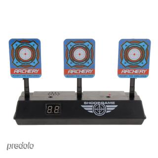 Electronic Digital Target w/ Light Sound Effect Auto Reset Scoring Target