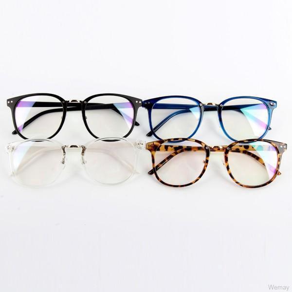 Unisex Fashion Optical Round Frame Glasses