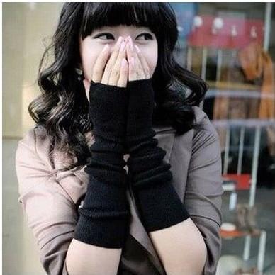 Găng tay len hở ngón chống nắng, giữ ấm teen