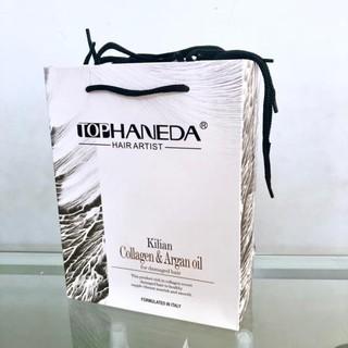 [Chính hãng] [Siêu rẻ] Combo 20 túi giấy bìa cứng đẹp đững mỹ phẩm (màu trắng)