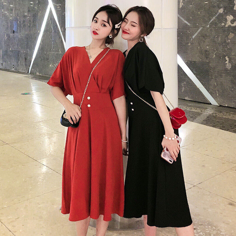 Áo Nữ Chân váy Đầm đầm nữ đầm trễ vai Đầm hoa Váy hoa Váy hoa nhí Váy nữ Váy đen Váy trễ vai