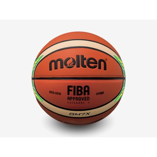 Quả bóng rổ da PU Molten BGM7X-YG Size 7