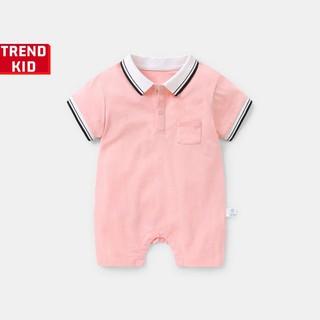 [Mã TREND20 giảm 15% đơn 99K] Bodysuit liền thân cho bé trai ,bé gái, trẻ sơ sinh màu hồng Michley