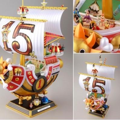 Mô Hình Thuyền Tàu Thousand Sunny 25cm Băng Hải Tặc Mũ Rơm Luffy One Piece