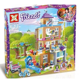 Lắp ráp lego Ngôi Nhà Tình Bạn – SY3012