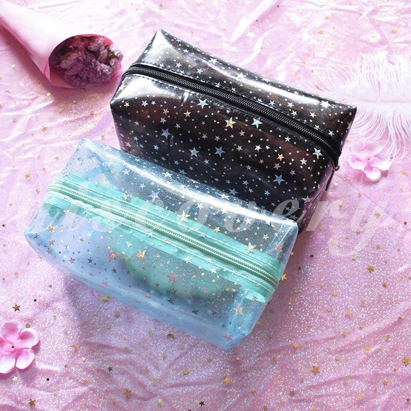 Dis Pvc Storage Bag Makeup Bag Environmental Protection Beautiful