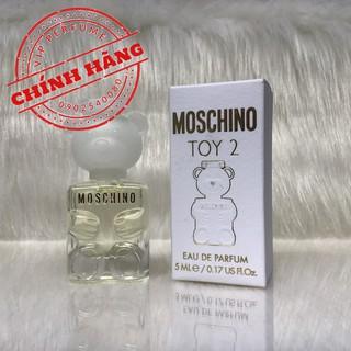 Nước hoa nữ chính hãng Moschino Toy 2 EDP 5ml thumbnail