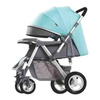 Xe đẩy đi bộ 2 chiều 3 tư thế BELECOO 511 cao cấp cho bé, bánh hơi có giảm sóc, bảo hành 12 tháng thumbnail