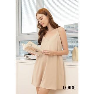 Váy Lụa 2 Dây Cao Cấp Loirechic Freesize LSL05 thumbnail