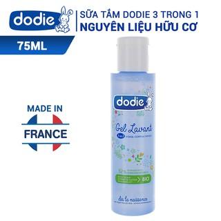 [MKB Gift] Sữa tắm nguyên liệu hữu cơ 3 trong 1 Dodie 75ml thumbnail
