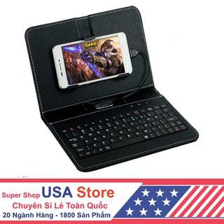 Bao Da Bàn Phím Kết Nối Điện Thoại (Cổng Micro USB) (Giao Màu Ngẫu Nhiên) GPKS1009- bán giá gốc