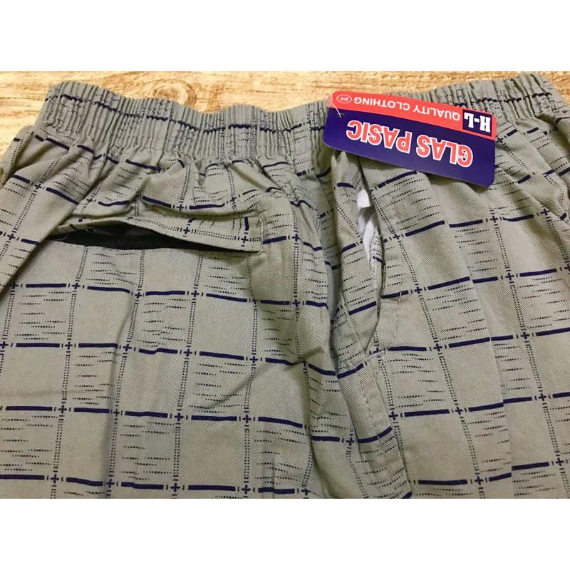 Quần Short Nam - Quần Đùi Caro Vải Cotton - Mặc Nhà Thoải Mái