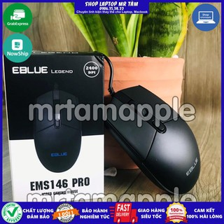 (CHUỘT PHÒNG NET) Chuột có dây EBLUE EMS 146 PRO chuyên game (Chính hãng) thumbnail