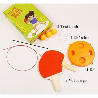 Bộ bóng bàn phản xạ cho bé giải trí trong nhà