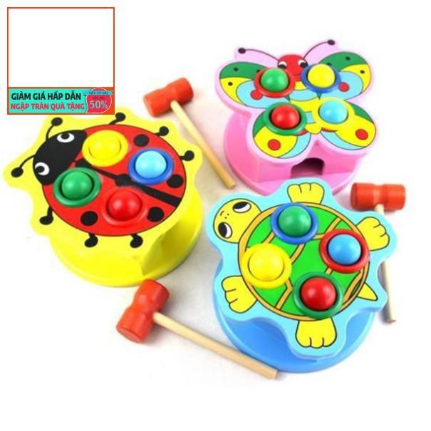 Đồ chơi hộp đập bóng hình động vật vui nhộn đáng yêu cho bé