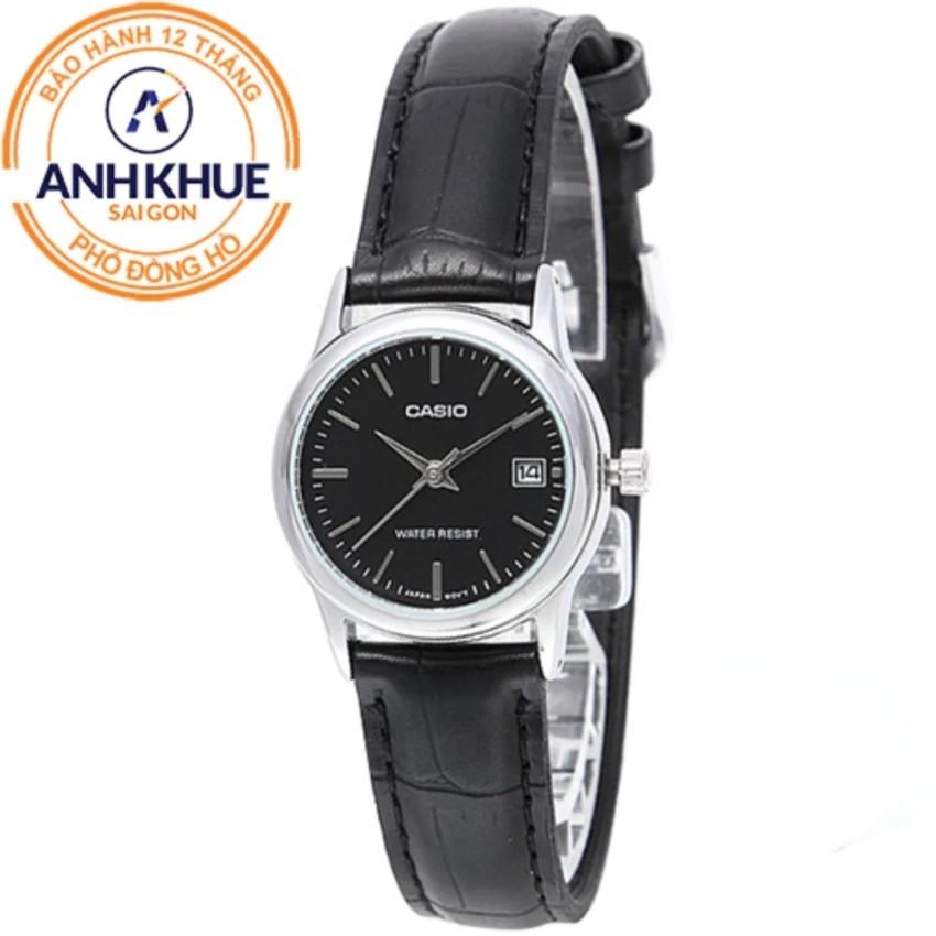 Đồng hồ nữ dây da Casio Anh Khuê LTP-V002L-1AUDF
