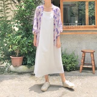 Kimono Ngắn Họa Tiết Hoa Nhí thumbnail