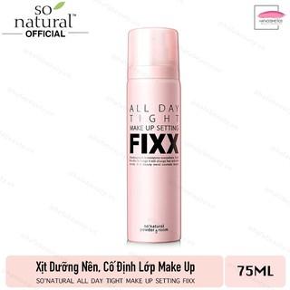 Xịt Dưỡng Nền, Cố Định Lớp Make Up So Natural All Day Tight Make Up Setting Fixx 75ml - HAFA BEAUTY