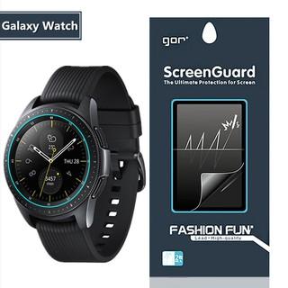 Miếng dán bảo vệ màn hình đồng hồ thông minh Samsung Galaxy Watch 42mm và Galaxy Watch 46mm hãng Gor(miếng dán dẻo)