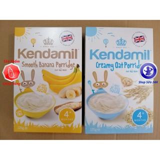 Bột Ăn Dặm Kendamil Vị Lúa Mạch và Vị Chuối