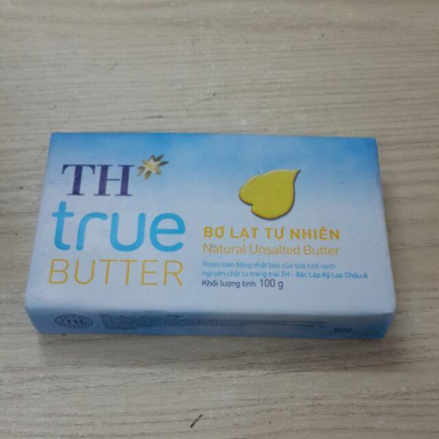 Bơ TH true butter 100g