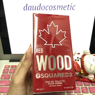 [ fullsize ] Nước hoa nữ DSQUARED2 Red Wood Pour Femme EDT 100ml