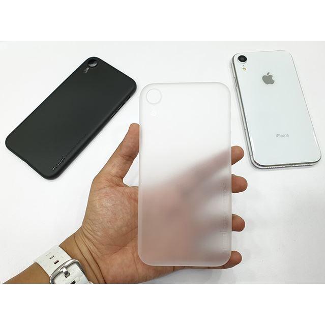 Ốp lưng lụa siêu mỏng iphone XR chính hãng Memumi