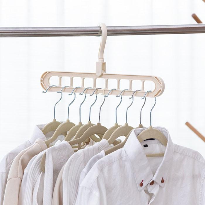 Móc nhựa treo quần áo nhiều tầng