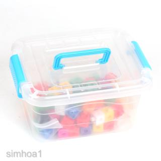 Set of Montessori Cube Blocks Box Kids Kindergarten Teaching Aids DIY Gift