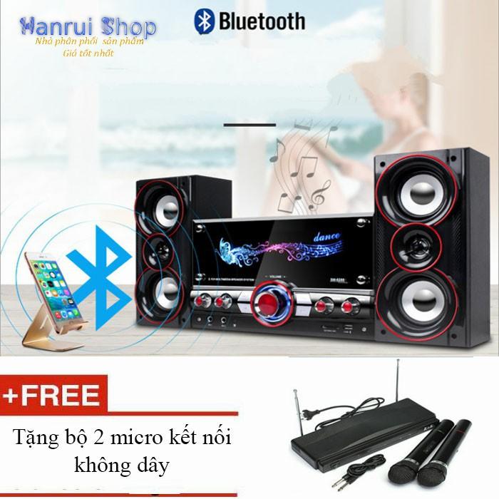 Dàn âm thanh tại nhà loa bluetooth 4.0 + tặng kèm 2 micro không dây - 3064938 , 1270636529 , 322_1270636529 , 1820000 , Dan-am-thanh-tai-nha-loa-bluetooth-4.0-tang-kem-2-micro-khong-day-322_1270636529 , shopee.vn , Dàn âm thanh tại nhà loa bluetooth 4.0 + tặng kèm 2 micro không dây