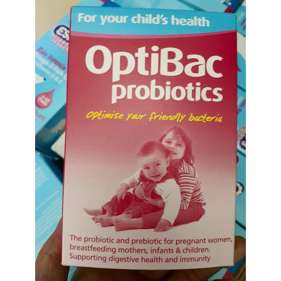 Men vi sinh Optibac for babies and children