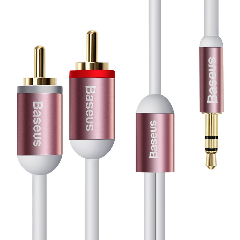 Cable Audio tín hiệu âm thanh từ 1 Jack 3.5mm ra 2 đường tiếng
