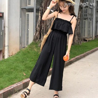 66❆Cute and sweet 2-piece jumpsuit for women