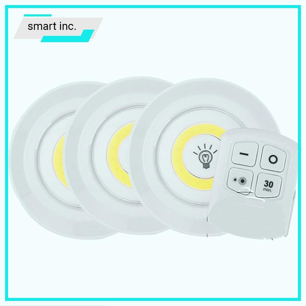 Đèn Led Mini Treo Cầu Thang Phòng Ngủ Nhà Bếp Gắn Tủ Đèn Trang Trí Treo Tường Điều Khiển Từ Xa Thông Minh