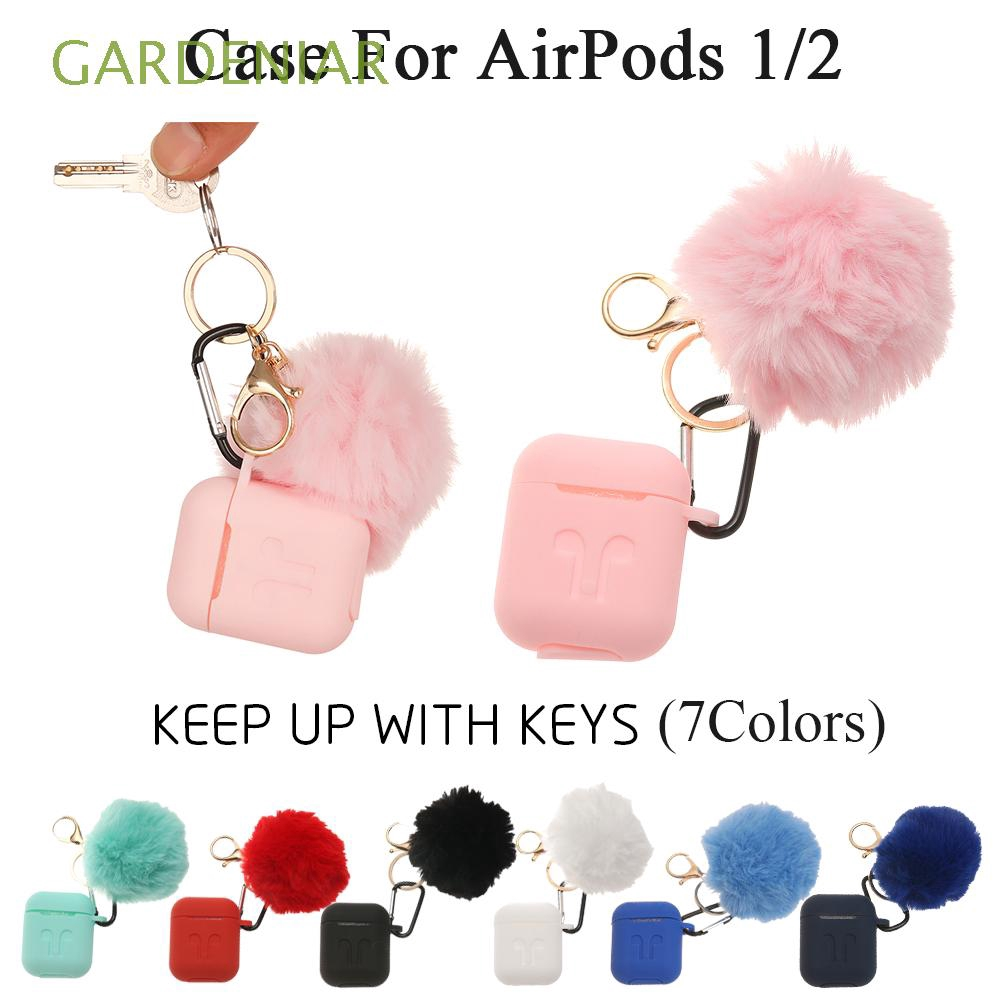 Dustproof Luxury Cute Universal Sleeve Wrap Candy Color Silicone Case Cover  For Apple Airpods 1/2 Charging Box