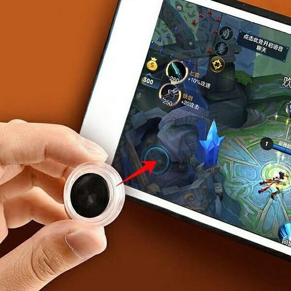 Nút hỗ trợ chơi Game Joystick kiểu Đồng Xu
