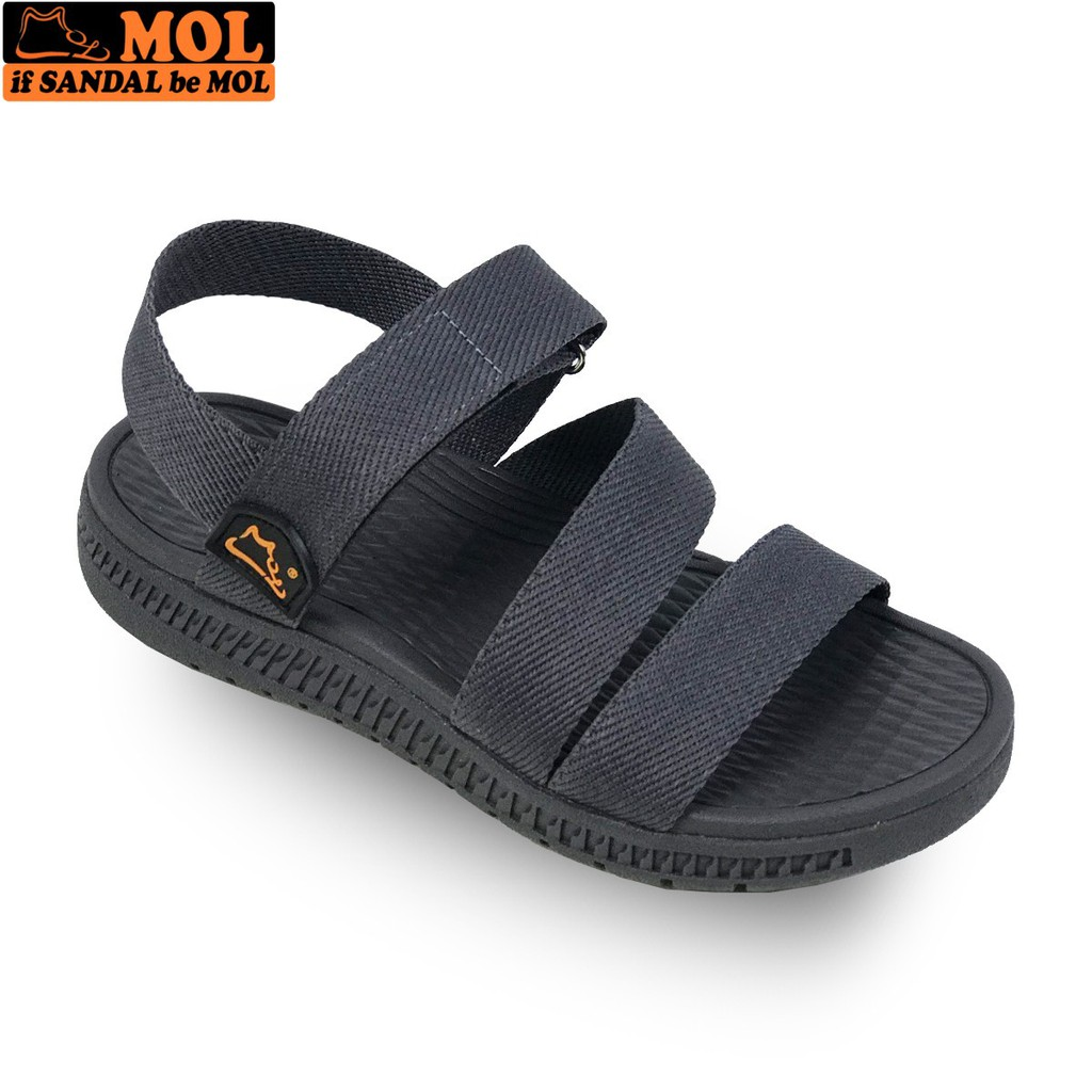 Giày sandal học sinh nam nữ quai ngang đế siêu nhẹ hiệu MOL MS2G - MOL VN - BẢO HÀNH 12 THÁNG