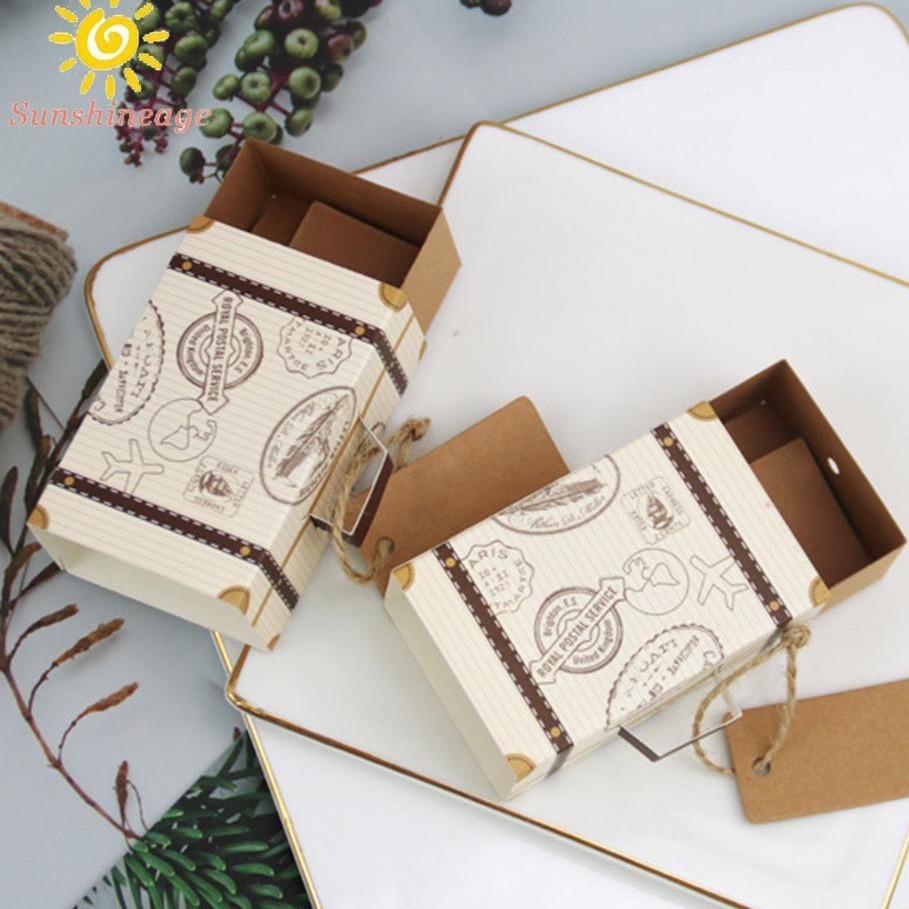 Hộp đựng quà, hộp đựng trang sức CRAFT DIY sáng tạo