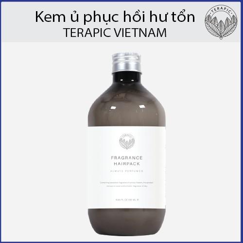Kết quả hình ảnh cho Kem Ủ Terapic Fragrance Hair Pack hasaki