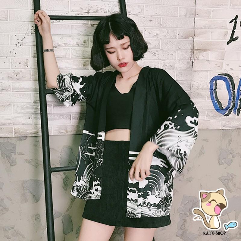 Haori/Happi/Kimono tatoo rồng