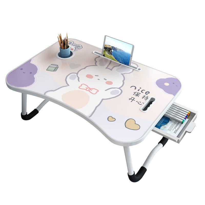 Giường ngủ, bàn máy tính xách tay, phòng ký túc xá sinh viên, học, đơn giản , có thể gấp lại, lười nhỏ