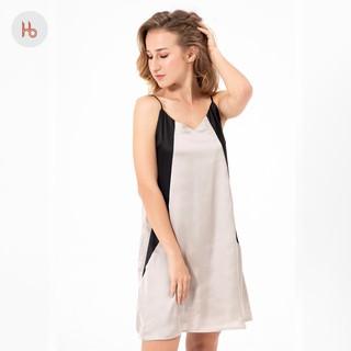 Đầm mặc ngủ phối màu Hibi HB101 thumbnail