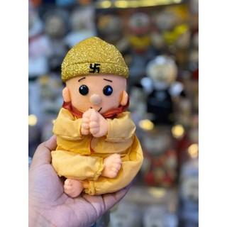 Gấu bông Chú tiểu niệm Phật