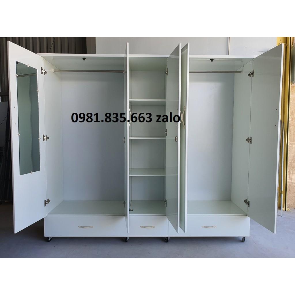 tủ nhựa đài loan 5 cánh 1m82 x 2m05 x 48