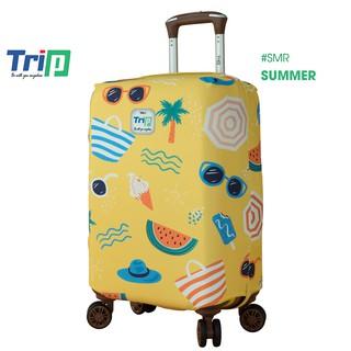 Áo trùm vali TRIP vải thun 4D dày dặn co dãn ôm sát vali thumbnail