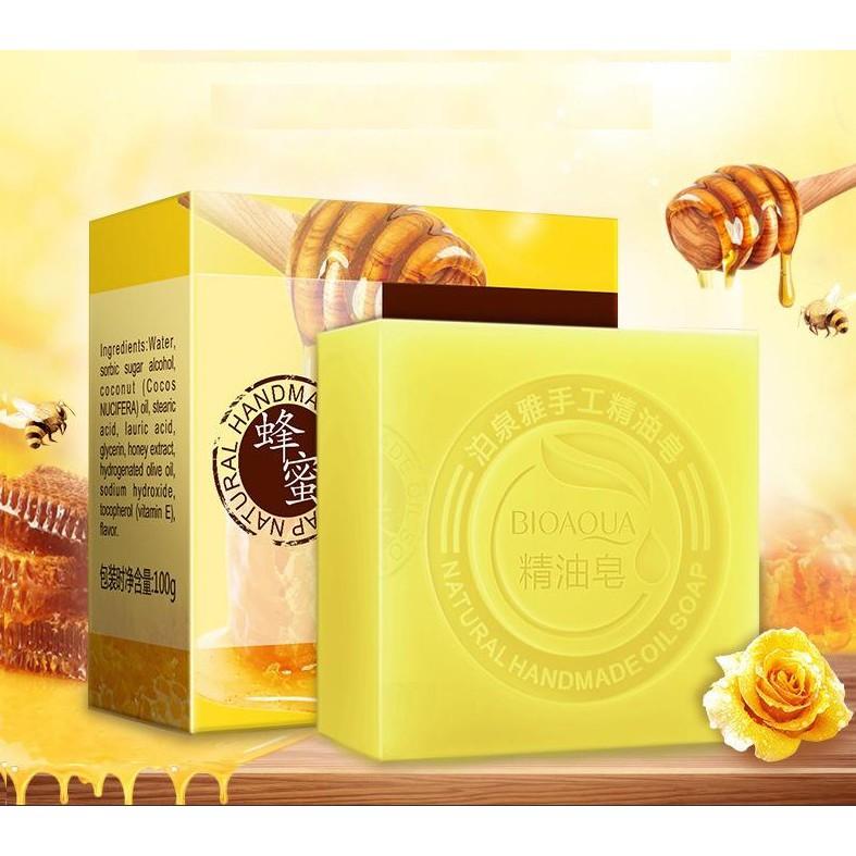 Xà phòng tăm dưỡng ẩm Bioaqua chiết xuất mật ong
